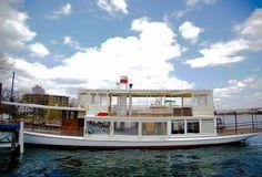 The Lake Geneva Cruise Line's Steam Yacht Louise