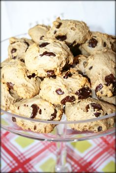 CRAVE fitness: Clean chocolate chip cookies