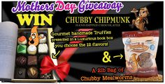 Chubby Mealworms Mothers Day Giveaway http://woobox.com/4noy6s/iwkzyy #MothersDay #win #sweepstakes