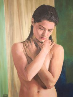 'Ampersand', oil on canvas - Mario De Zutter