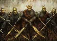 Returned Phalanx from Theros MTG Set. Fantasy Rpg, Medieval Fantasy, Fantasy World, Dark Fantasy, Dark Souls, Mtg Art, Sword And Sorcery, Fantasy Inspiration, Fantasy Characters