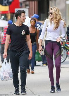 Plenty of chemistry! Gigi Hadid and Joe Jonas were spotted together in New York following ...