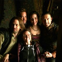 Reign Behind The Scenes Of Season 4 Director Megan Follows Lord Bothwell Mary Lord Darnley And Rizzio Reign Tv Show Reign Cast Reign Hairstyles