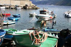 Scilla, battelli di piccola pesca costiera!