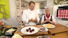 Expertin Anita Schweiger zeigt Rezepte für Bröselknödel und Knödel mit Bohnen- und Rotkrautfüllung.