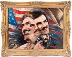 Perhaps nothing is more manly than this Burt Reynolds memorabilia, which is up for auction. Which brand is brave enough to buy it???