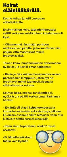 Vitsit: Koirat eläinlääkärillä - Kohokohta.com