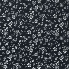 Ditsy Daisies Floral Flowers Tossed 100% Viscose Print Fabric 140cm Wide