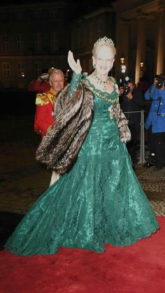 1 January 2018 | Queen Margrethe II arrives at Amalienborg Palace for the annual New Years reception in Copenhagen, Denmark.
