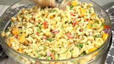Shrimp And Spinach Recipes, Mayo Pasta Salad Recipes, Easy Pasta Salad Recipe, Cabbage Soup Recipes, Elbow Macaroni Recipes, Easy Macaroni Salad, Easy Casserole Recipes, Easy Pasta Recipes, Cooking Recipes