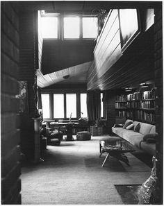Ben Rebhuhn House. Great Neck Estates, New York. Usonian. 1937. Frank Lloyd Wright