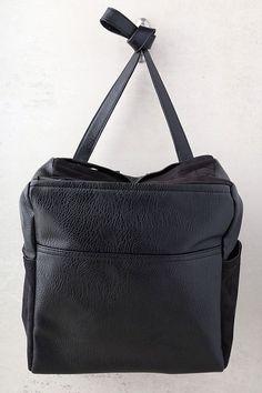 Open-Minded Black Backpack