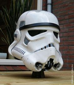 "TE ANH HDPE ""Stop That Ship"" Stormtrooper helmet"