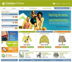 Online Shop SWiSH Templates by Di