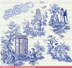 Doctor Who Toile