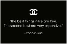 Quote by Coco Chanel.  #MarcoCruzJoalheiro #Mcjoalheiro #Quotes #Jewellery #Chanel