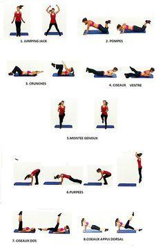 exercice avec bande elastique de fitness pour maigrir des