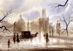 Prague Iii Print By Svetlana And Sabir Gadghievs