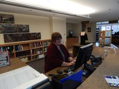 Debbie Chevron, Library Associate