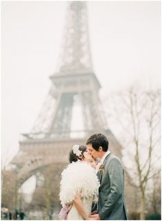 Elope to Paris on French Wedding Style and © Alea Lovely Fine Art Photography