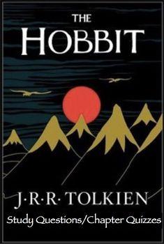 The Hobbit Bundle (Study Ques. & Quizzes for Ch. 1-4; 5-7;