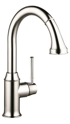Hansgrohe Kitchen faucets: Talis C, Talis C 2-Spray HighArc Kitchen Faucet, Pull-Down, Art. no. 04215830