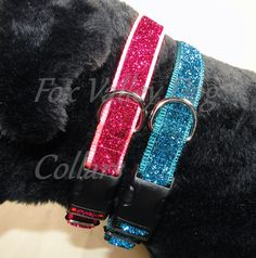 Sparkle collars by FoxValleyDogCollar