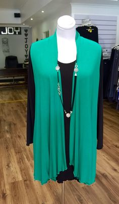 Emerald green viscose Lycra gilet, designed and manufactured by Hayley Joy. Plus Size Womens Clothing, Plus Size Fashion, Clothes For Women, Joy Clothing, Real Women, Emerald Green, Sweaters, Shopping, Design
