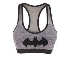 Brassière grise Batman