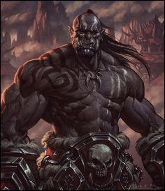 - – spassundspiele: Mag'har Orc by Todor Hristov - Orc Warrior, Fantasy Warrior, Fantasy Rpg, Medieval Fantasy, Fantasy Artwork, Dark Fantasy, Dungeons And Dragons Characters, Fantasy Characters, Fictional Characters
