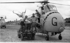 Photo: 12. Helicopter refuelling in the bush from fred gray 1961-64