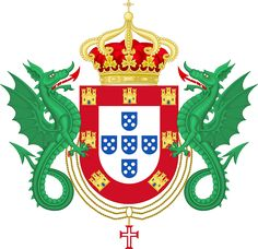 Coat of Arms of the Kingdom of #Portugal (1640-1910).png