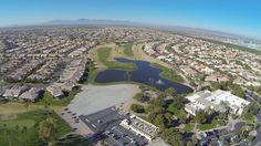 Sun Lakes Arizona Oakwood Country Club - aerial of Robson developed Active Adult Community in the East Valley of Phoenix bordering Chandler AZ #sunlakesaz #robsonsunlakes #sunlakesoakwood