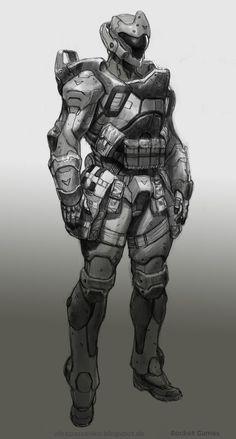 Heavy infantry Manticore by AlexPascenko.deviantart.com on @deviantART