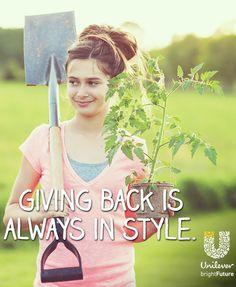 Give back @UnileverUSA