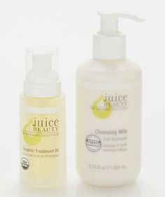 Cleansing Milk & Treatment Oil by Juice Beauty on #zulily