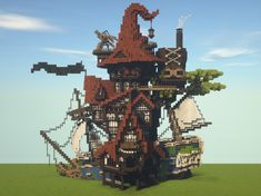 minecraft underwater house how to build / minecraft underwater house . minecraft underwater house how to build Château Minecraft, Casa Medieval Minecraft, Construction Minecraft, Cool Minecraft Houses, Minecraft Blueprints, Minecraft Buildings, Minecraft Crafts, Minecraft Building Guide, Minecraft Japanese House