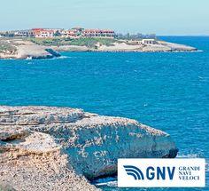 Rocky coastline in Porto Torres, Sardinia     http://www.gnv.it/it/destinazioni-traghetti/porto-torres-sardegna.html