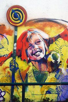 Unknown artist.Street art