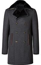 Etro Wool Coat with Fur Collar on shopstyle.co.uk