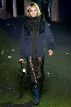 Cara Delevingne - Marc Jacobs - Spring/Summer 2014 Ready-to-Wear - new york - Fashion Show London Fashion Weeks, Ny Fashion Week, New York Fashion, Spring Fashion, Latest Fashion, Marc Jacobs, Gotham City, Fashion Models, Fashion Show