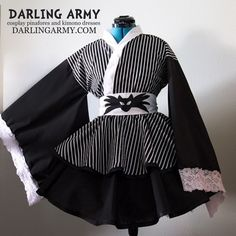 Pumpkin King Cosplay Kimono Dress
