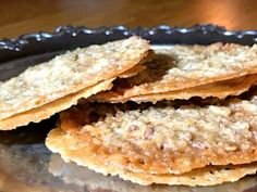 Glutenfria fyllda knäckflarn | Glutenfria godsaker Gluten Free Cakes, Gluten Free Baking, Gluten Free Recipes, A Food, Food And Drink, Grandma Cookies, Fall Treats, Foods With Gluten, No Bake Desserts