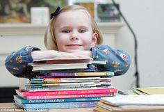 Heidi Hankins the next Einstein? This 4 year old genius has an IQ of 159.