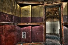 Padded cell inside the rotten bedlam of massive Hellingly Asylum