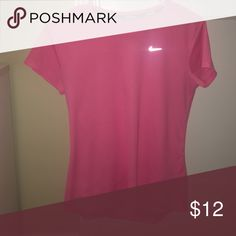 🔺Nike running dri-fit T-shirt🔻 Small stain pictured! 🔺THIS ITEM APPLYS TO THE 4 FOR $30 DEAL🔺   THIS IS HOW IT WORKS: Bundle any 4 items from my closet that contain these emojis in the title of the product 🔺🔻 (Ex: 🔺PINK Racerback bra🔻)  Then, send me an offer of $30 for all the items and I will ACCEPT!    THANK YOU ALL AND HAPPY POSHING!💓👗 Nike Tops Tees - Short Sleeve