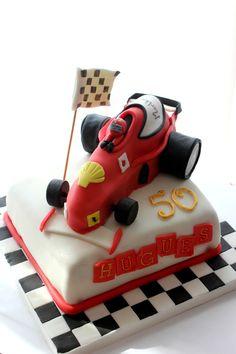 El pastel ideal para los apasionados de la Fórmula 1