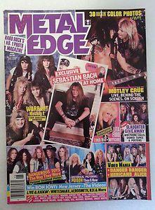 Metal Edge Magazine June 1990 #MetalEdge #hardrock