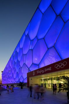 remember the water cube in beijing...