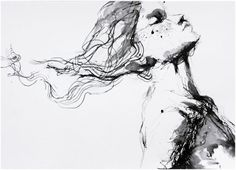 Artist Agnes Cecile   paintings